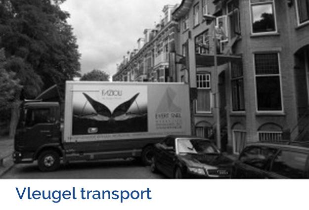 Vleugel transport